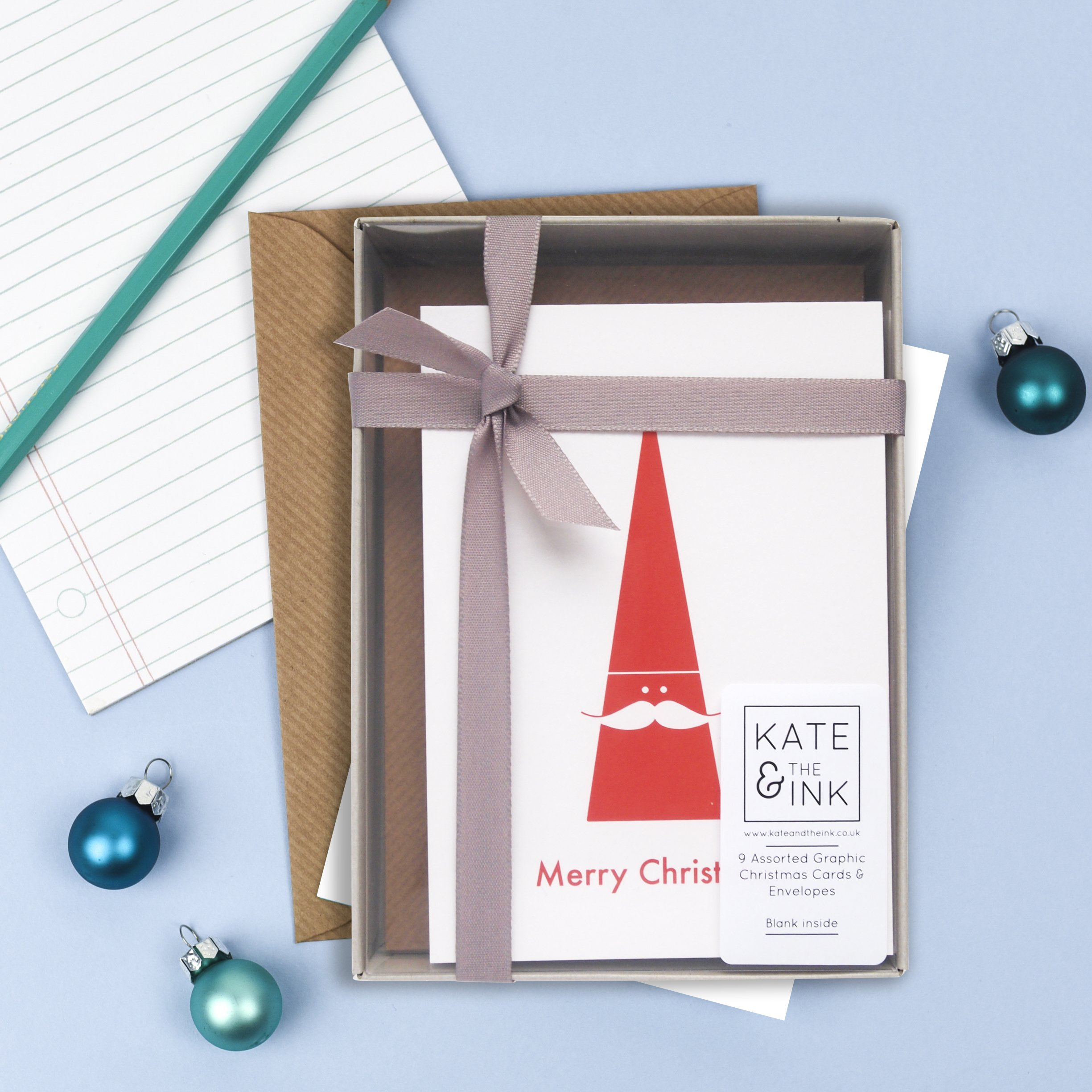Graphic Christmas Card Pack – Kate & The Ink
